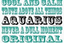 Aquarius / by Bonnie Gantz