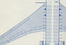 Airline Seating Maps / by Raynard Feenstra Troncoso