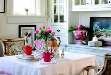 Kitchen Spaces / by Nell Hill's