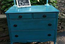 Furniture Re-do ideas / by Melinda Thomas