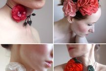 Fabric Flowers / by M Avery Designs