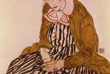 ARTIST: EGON SCHIELE / by Sally Geda