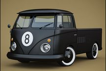 vw t1 pickup/doublecab(doka) / by nope done