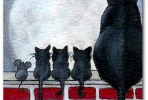 Katzen / by Laura Knappenberger