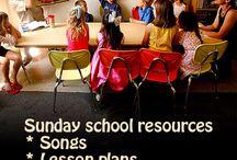 Sunday School. / by Mandee Defee