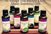 Essential Oils / by Virginia Brotherson