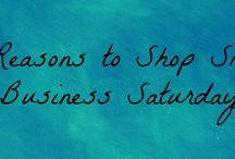 Shop Small Saturday / by Stacy Patrick
