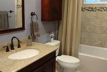 bathroom remodel ideas / by Michelle Saxon