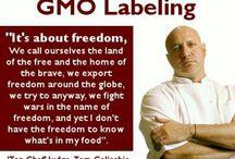 Battle against GMO's  / by Melanie S