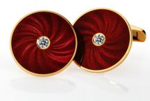 Victor Mayer Cufflinks /  VICTOR MAYER creations combine the innovative works of our designers with historic elements. Mesmerizing enamels create an impression of watered silk and the beauty of the exotic gems is a pleasure to the eye. Unmistakable, surprising and imaginative items of jewelry for women with a sophisticated style: urbane and self confident; casual elegance with a touch of the erotic. / by Manfredi Jewels