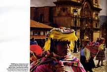 Cusco - Peru / The ancient capital of the Inca empire, a UNESCO world heritage site, a vibrant city where colonial architecture blends with traditional foundations. Explore the cathedrals, quaint markets. Lose yourself among the cobblestone paths and the warmth of its people.  / by Aranwa Hotels