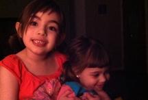 my granddaughters / by Rebecca Adams