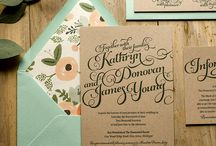Invitations / by Kristine Adamiec