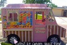 Ice Ice Baby / Cute ice cream trucks / by Zizi Bright