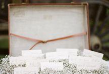 Baby's Breath & Burlap Rustic Wedding / by Vanessa Selph