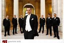 Inspiring Weddings-Groupings-Men / Professional wedding photographs of men in the wedding party with the groom. / by Elizabeth Pruitt