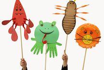 Preschool - Bible Lesson Ideas / by Kellie Tatham