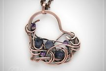 wire jewelry / I am impressed by a wonderful technique. And I respect all creators. / by yummiy