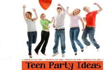 Teen Party Ideas / Teen Party Ideas - Great birthday party ideas for teenagers ages 13, 14, 15, 16, 17 and 18 / by Birthday Party Ideas 4 Kids
