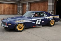 Trans-Am / Sunoco Camaros and Indy Lites / by Mark G