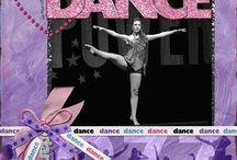 scrapbook layouts-dance / by donna lightell