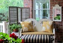 Porch & deck.  / by Nessa Pie