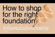 #FoundationCourse - Lisa Eldridge / These videos cover basic information about choosing and shopping for foundation, advice on getting the right shade for you, product recommendations and application techniques. Getting the perfect base has never been easier! / by Lisa Eldridge