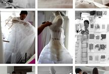 Couture sewing / Sewing various couture garments  / by Amy Kathleen