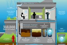 Water Conservation Infographics / Who doesn't love an infographic?  These are all about water. / by Lily Anne Phibian