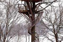 treehouses / by ELOISE VASQUEZ
