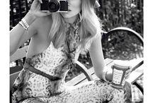 Women with Camera's / Photo ideas / by Tony