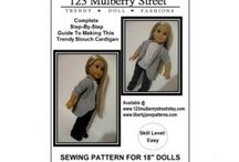 AG doll PATTERNS and sewing / by Kathleen Jarvis