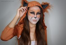 Halloween Makeup Tutorials / Halloween, From Head To Toe style / by Jen
