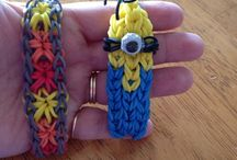 Rainbow Loom Projects / by Cathi Arneson