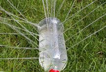 Plastic bottle crafts / by Libby Everett