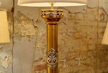 Statement Making Table Lamps / Whether an antique or a reporduction, these table lamps are bound to add appeal to any area of your home.  / by Bevolo