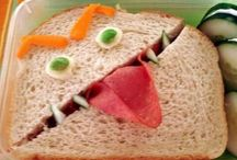 Lunch box ideas / fun for lunch / by Jill Gillen
