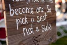 Wedding ideas! / by Kiki Bates