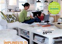 Catalogul IKEA 2007-2015 în România / Sute de pagini de inspirație și idei pentru acasă. Sub coperțile cataloagelor IKEA din 2007 până în prezent. / by IKEA Romania