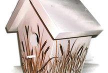 bird houses / by Shelly Breitenbach