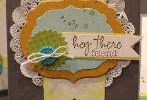 "Cards - ""Paper Pumpkins"" / by Bridget Heinz"