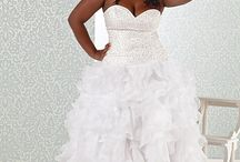 For the Plus Size Bride / by Marie Denee, The Curvy Fashionista