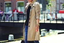 The Trench / An ode to the beloved and classic trench coat.  / by JNSQ