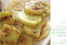 Mmmm Food: Garden Veggie Recipes / Creative ways to use up the abundance of garden veggies. / by Diana Staresinic-Deane