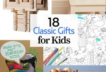 Classic Holiday Gifts for Kids / Not all kid-pleasing presents require batteries! From challenging games to cute costumes, these low-fi picks will score major points with youngsters. / by Country Living Magazine