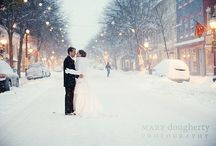 Winter Wedding Inspiration / What could be more romantic than a wintry wedding? / by Little White Dress Bridal Shop