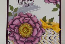Cards - Blended Bloom / by Margaret Raburn