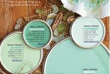 Master Bath Paint schemes / by Patricia Van Hise