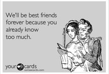 Best Friends / by SKIN-EEZ® Skincarewear®