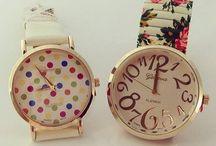 RELOJES LINDOS..⌚ / Hermosos y espectaculares relojes que te deslumbrarán.. / by Marlene